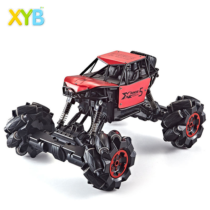Tik Tok hot selling 360 degree rotation 1:16 high speed nitro stunt 2.4G climbing rc car with light