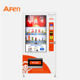 AFEN big advertising display touchscreen bottled orange juice soda water vending machine
