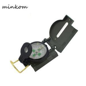 Карманный военный оптический Прицельный металлический сплав Компас мини-походный компас