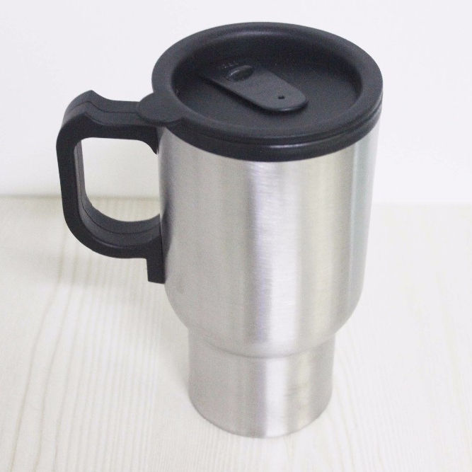 Customized Stainless Steel Electric Heat Travel Mug Car Mug With USB
