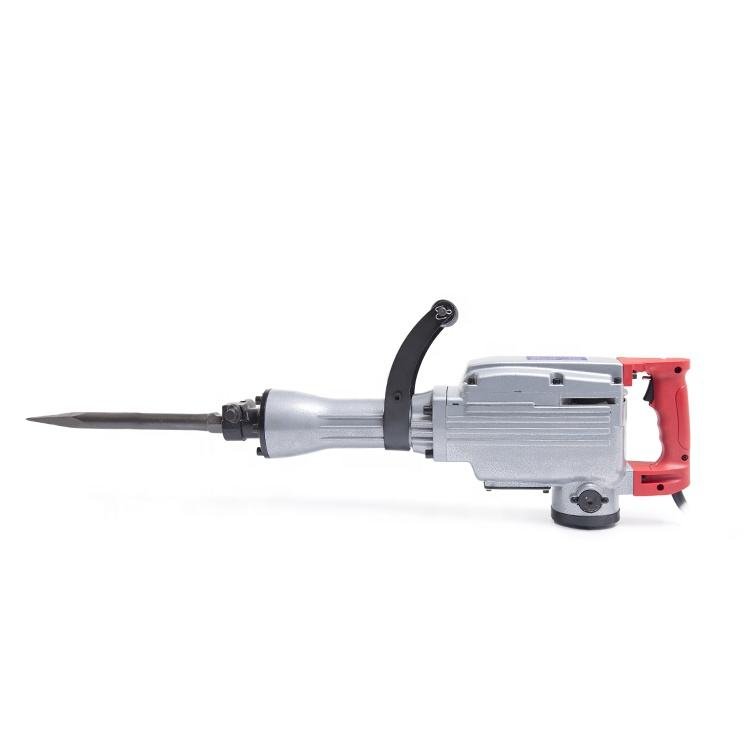 1Pc Price Ph65a China 220V 1250W Power Electric 65mm Demolition Hammer Jack For Concrete Breaking