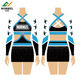 High Quality Good Elasticity Breathable Sublimation Cheer Uniforms,Cheerleading Uniforms For All Star Competition
