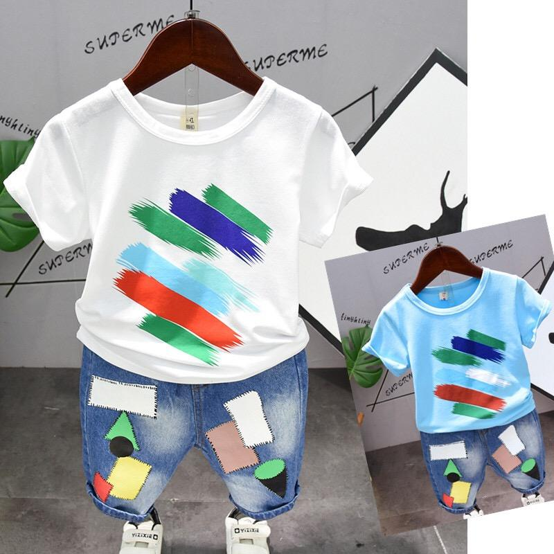 Pants Girls Summer Casual Clothing Summer Girl T-Shirt and Short ...