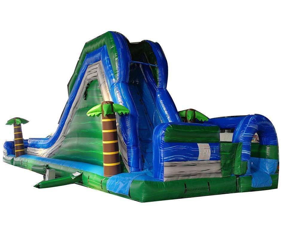 Commercial Ocean Circular Slide Inflatable Water Slide For Sale
