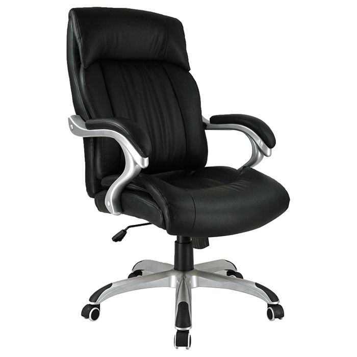 Heavy Duty Strong Minimalist Leather Office Public Chairs Executive