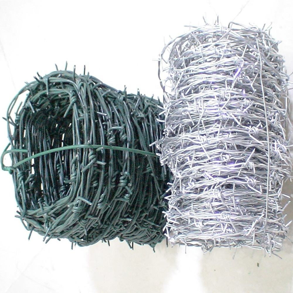 bulk barbed wire/used barb wire for sale/galvanized barbed wire