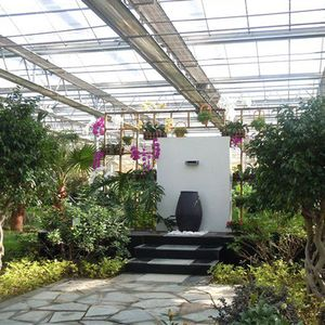 Ecological greenhouse restaurant with automatic control system for sale