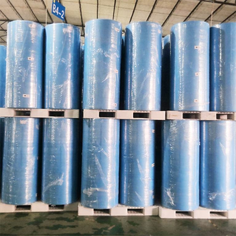 Taiwan Hot Sale Disposable PP+PE Laminated Safety Nonwoven Isolation Suit Fabric