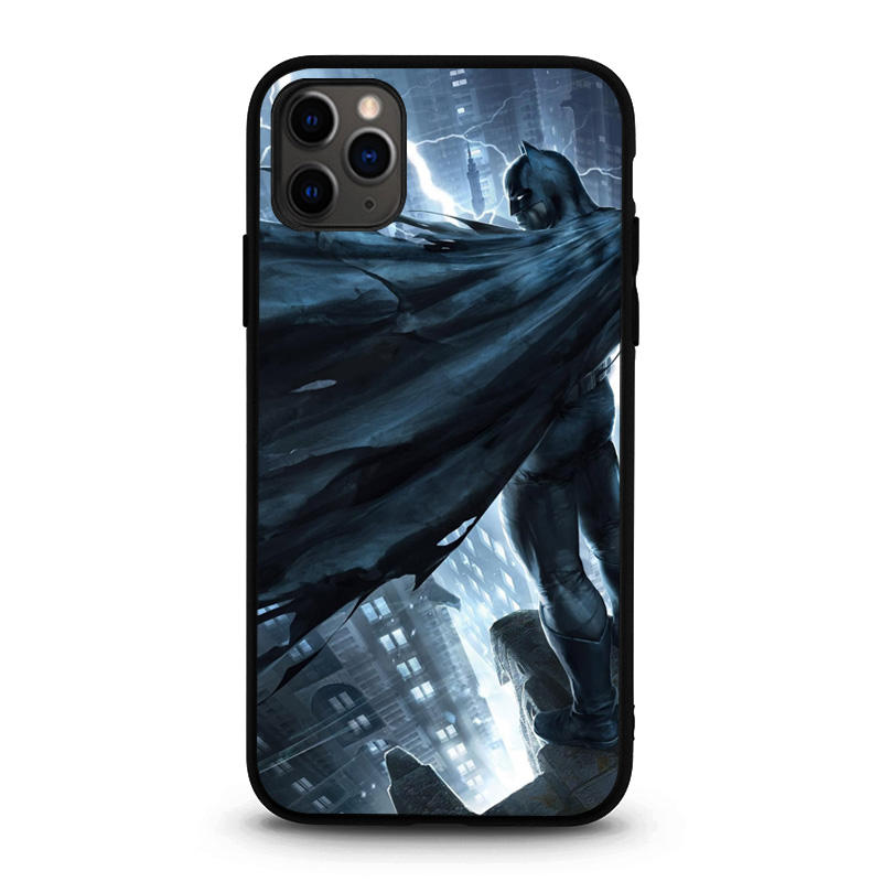 Custom Design Mobile 3D phone cases Lenticular Covers tempered glass phone case for iPhone 11 pro max