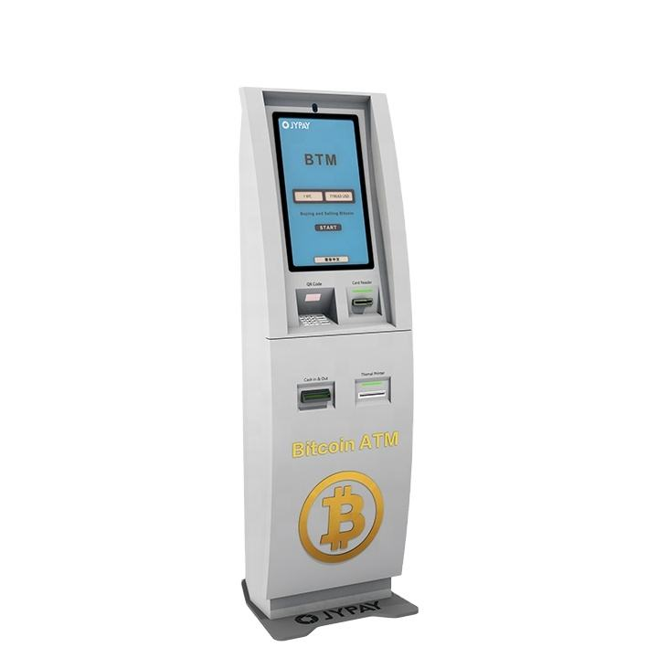 OEM ODM Payment Kiosks Support The Buy And Sale 2 Way With Software Digital Cryptocurrency Bitcoin ATM Machine