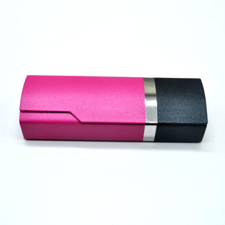 triangle eye glasses case with magnet, glass case gradient for wholesale