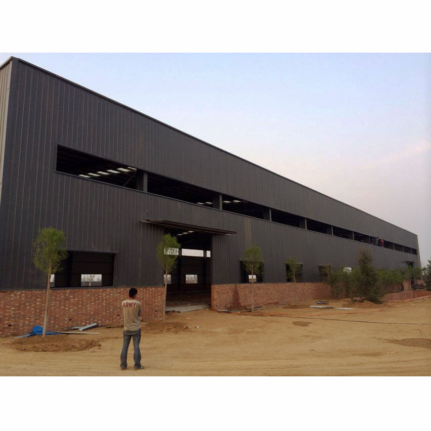 fast build professional prefab light steel structure framework in China