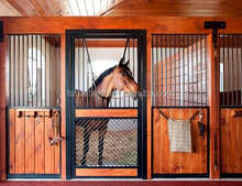 Indoor Safety Horse Stall Front Sliding Doors