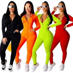 Hot Sells Womens 2 Piece Tracksuit Sets Sweatsuit Outfits Hoodie Sweatshirt Jogging Sweatpants Suit