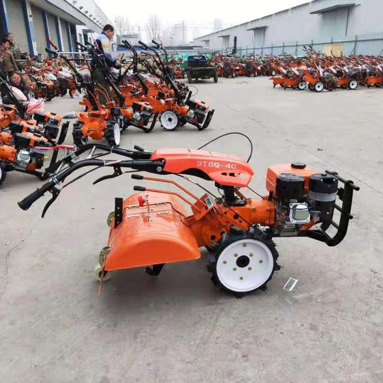 Gasoline 4WD driven power tiller