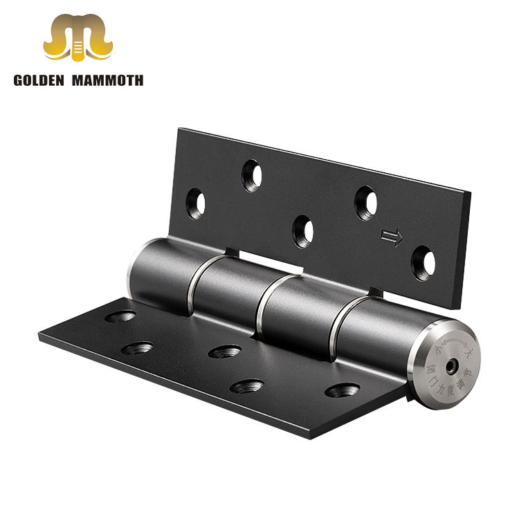 Keep Silent Aluminum Hydraulic Automatic Soft Closing E-type Door Hinges with Damping Buffer Function