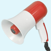 Handy megaphone Rechargeable Battery Powered rechargeable Megaphone with Siren USB