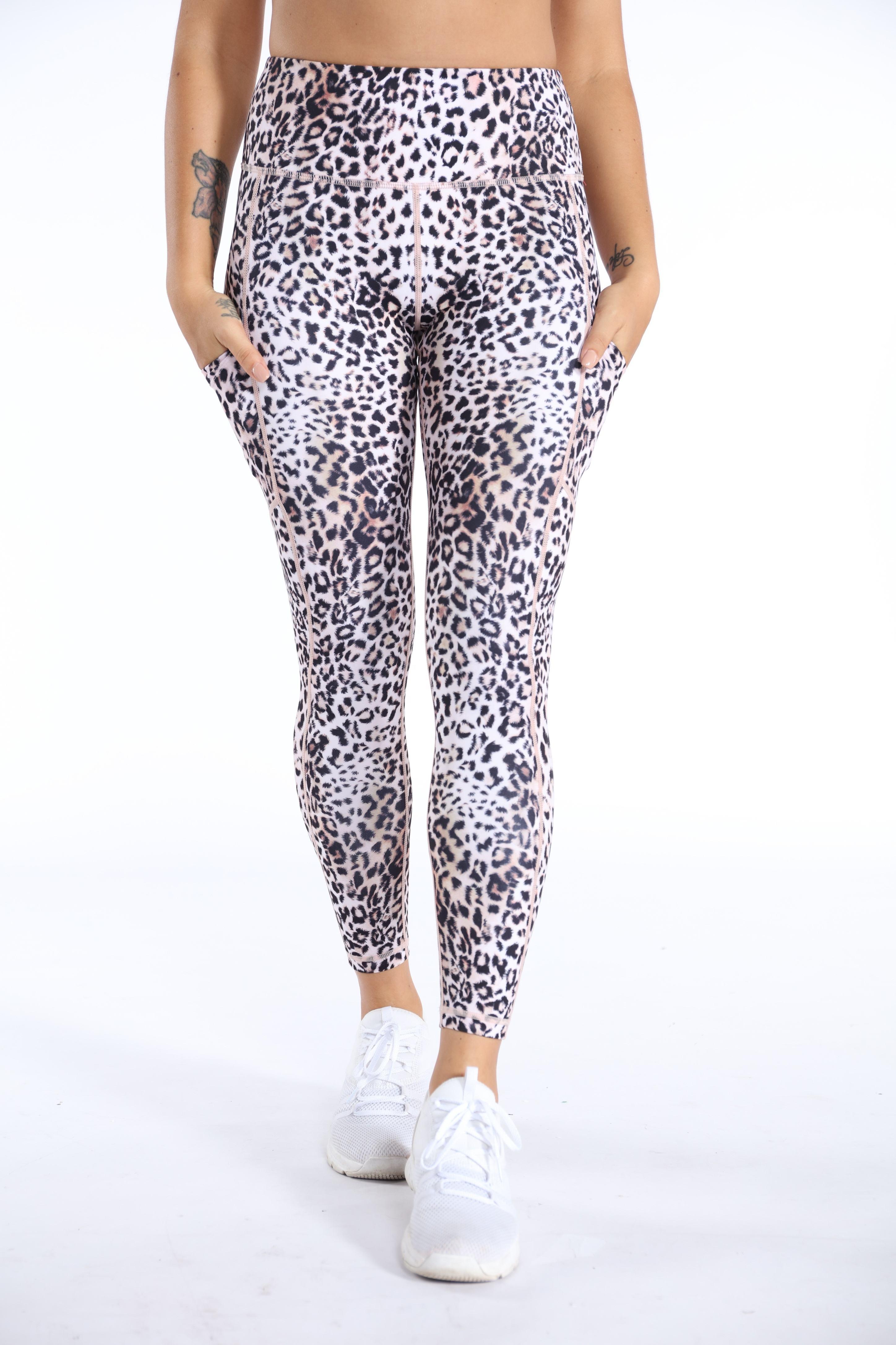 Womens Printed Leggings Hot Sale Yoga Pants Fashionable Women Activewear Ecofriendly Bamboo Animal Print Leggings