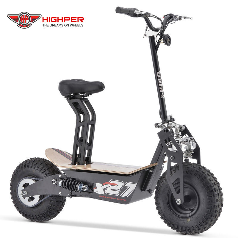 1600 Wát 2000 Wát Gấp Off Road Electric Scooter E Scooter E-Scooter Xe Máy Điện Scooter