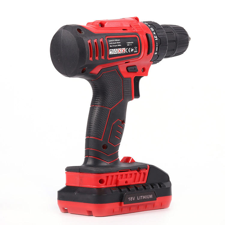 china portable small size Li-ion battery powered electric hand impact cordless drill tool machine