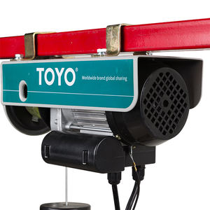 Excellent Quality Electric Hoist Mini Crane Toyo Tecle