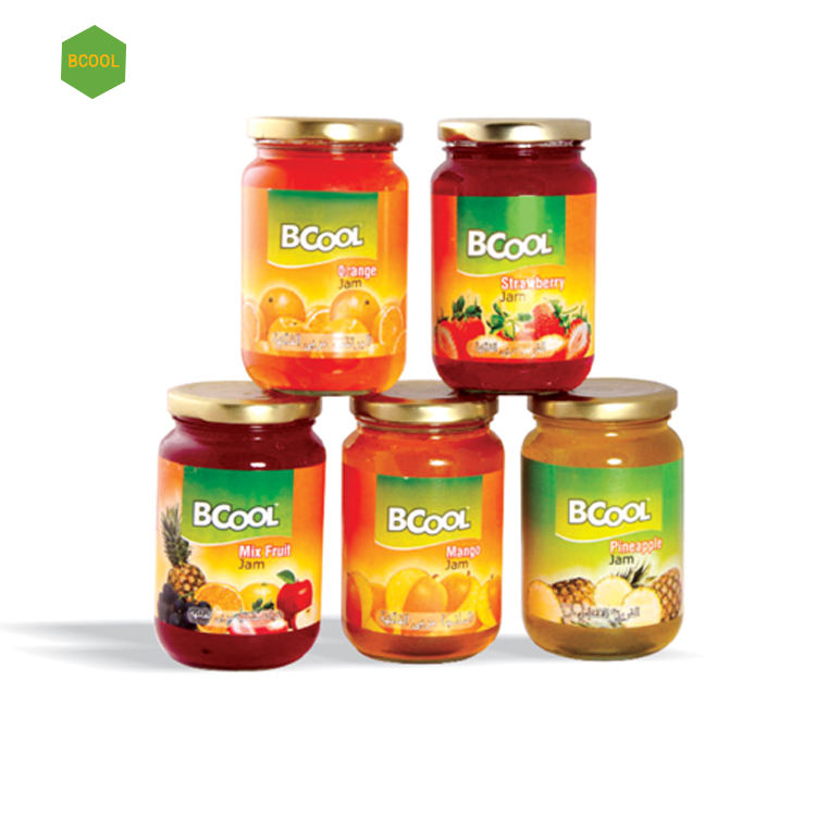 Popular Indian Brand Luscious Taste Orange Fruit Jam