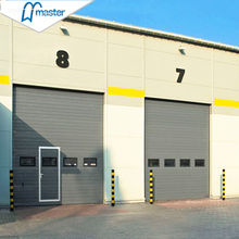 Wholesale Security Sliding galvanized Steel Industrial Sectional Door