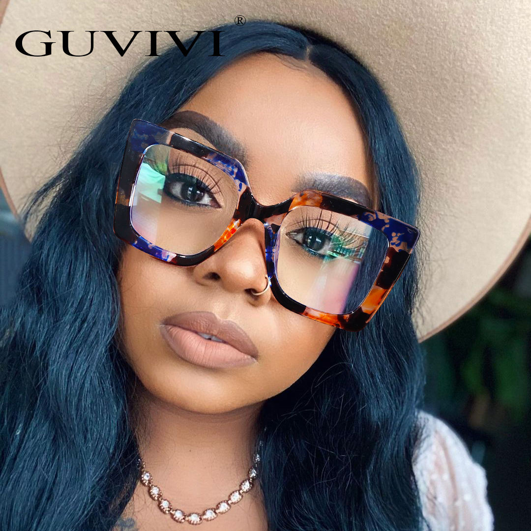 GUVIVI 2019 Wholesale Optical frame new Rhinestone Luxury New model eyewear Frame