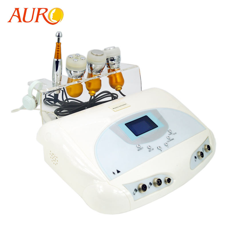 Au-1011 Factory No Needle Electroporation Microcurrent Face Lift Mesotherapy Machine/Ultrasonic Device/Cold Hammer