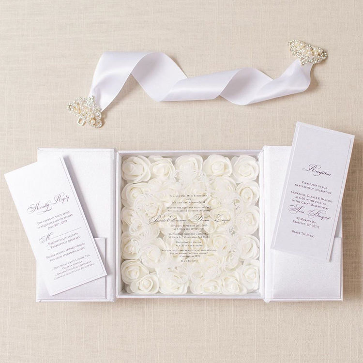 Luxury Laser Cutting Wedding Invites Bridal Shower Invitations Elegant Wedding Invitations Cards