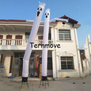 Inflatable Ghost Air DANCER/Infaltable Sky DANCER/ฮาโลวีน Windy Man,Vivid Ghost Air หุ่นสำหรับวันหยุด
