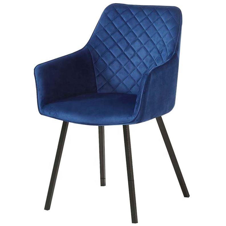 Pas cher Luxe Design Style Nordique De Haute <span class=keywords><strong>Qualité</strong></span> De Tissu De Salle À Manger De Loisirs Confortable Chaise de Salle À Manger Rembourrée