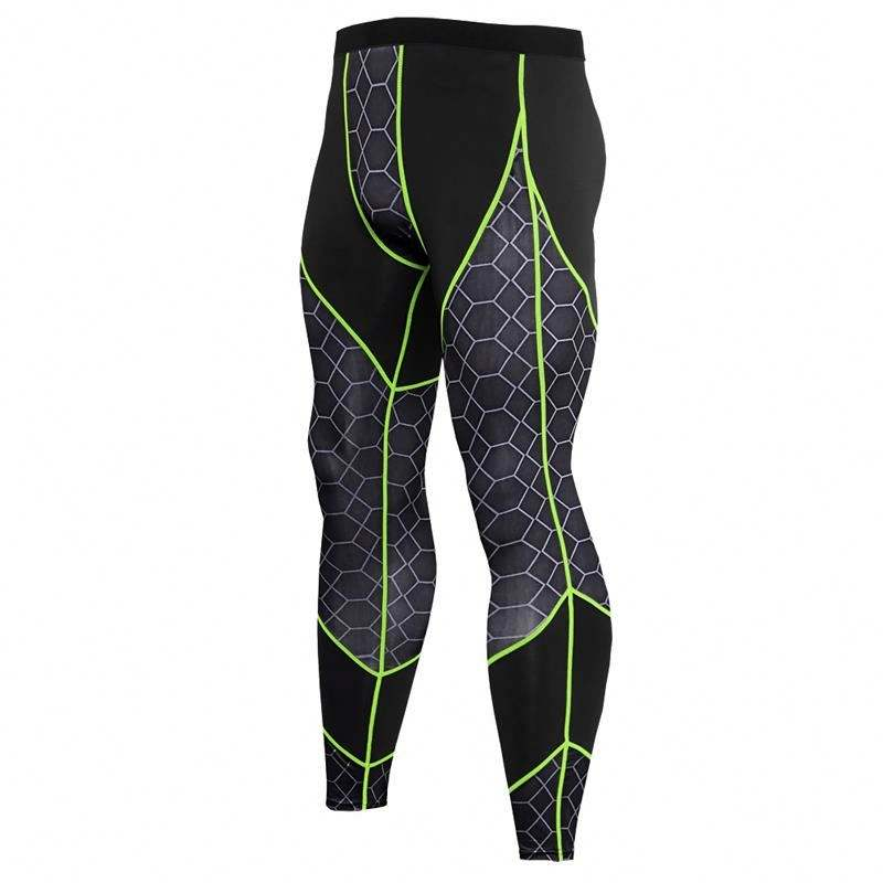 Quick Dry Uv Protection Compression Sport Tights For Men