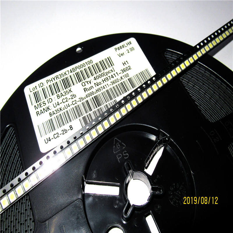 SMD LED 3528 2835 1W 3V Cool white LCD led strip light