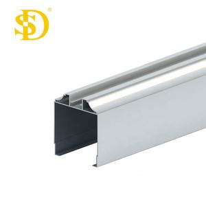 Aluminum extrusion profiles used for office partitions with various surface treatmenT