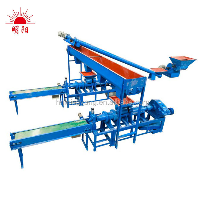 Low price coal briquette extruder machine/charcoal making equipment/coal briquetting extrusion machine