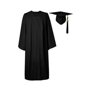 customized University High School graduation gown and cap robe for sales