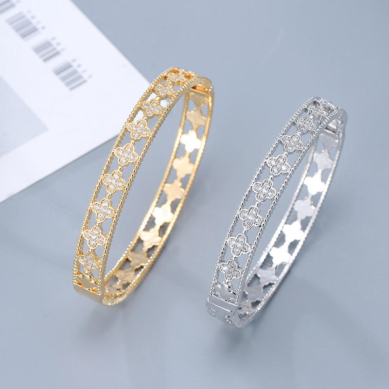 Women bracelet Luxury Jewelry Classic Design Cubic Zircon Diamond fashion Bracelet