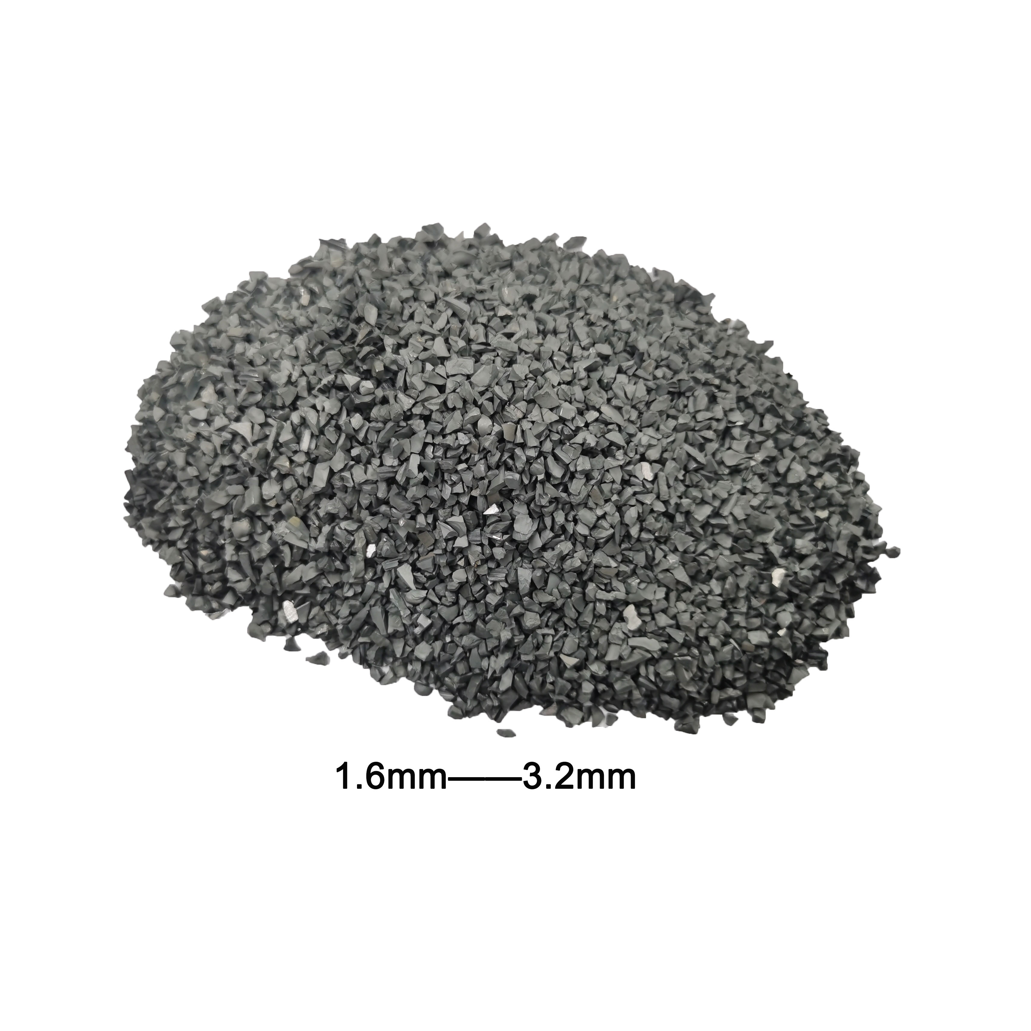 High quality tungsten granule cemented carbide grit made in China