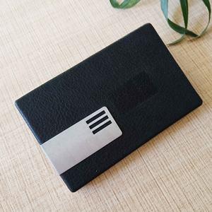 Vintage RFID Bloqueo de cuero de la pu de crédito de negocios titular de la tarjeta Nombre de ID de múltiples colores
