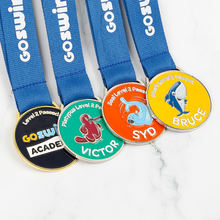China  custom cheap quality wholesale award medal sport with medal hanger