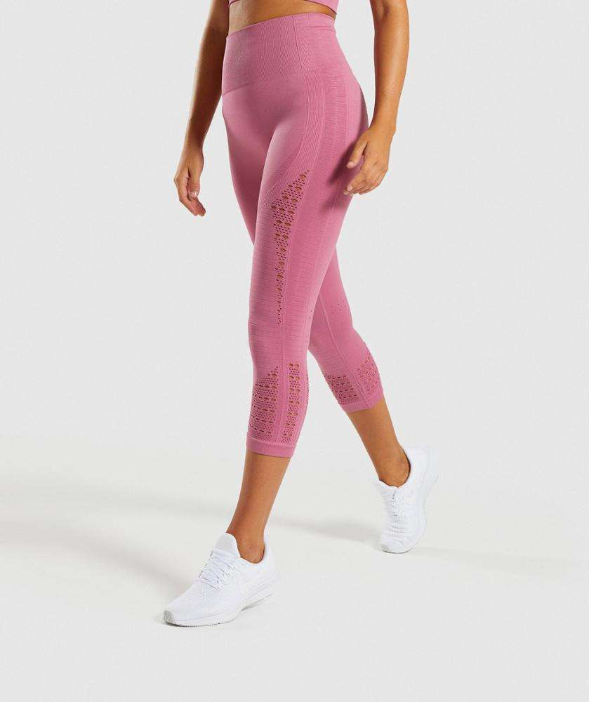 New Product Women Sport Seamless Leggings High Waist Workout Super Stretchy Gym Tights Energy Yoga Pants Compression