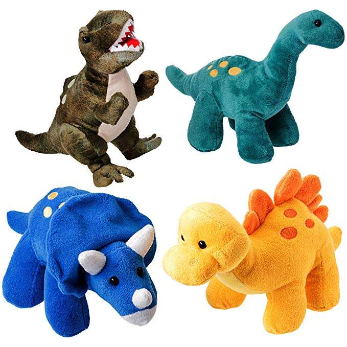 Stuffed Animal Assortment Great Set for Kids plush toys dinosaur toys soft toy dinosaur
