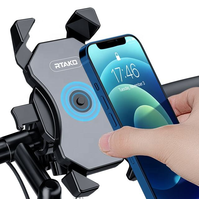 RTAKO Handlebar Mobile Phone Bike Bicycle Holder for Android iPhone