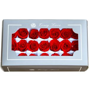 2020 Grade A Size 2-3 cm Red Real Touch Rose Head Roses Preserved for Valentine's Day