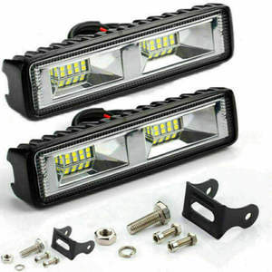 Car LED Work Light 48W Flood Lamp For Car SUV Off Road Jeep Truck Boat 12V 24V