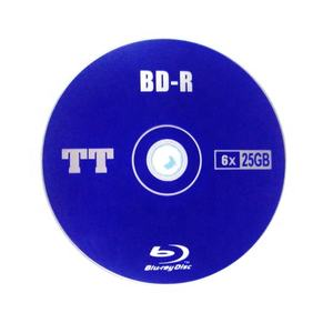 25GB blu-ray disc BD-R 25go for 3D movie and games duplication