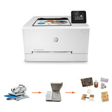 Color Laserjet Printer Four colors with wifi for HP A4 size Pro M254NW