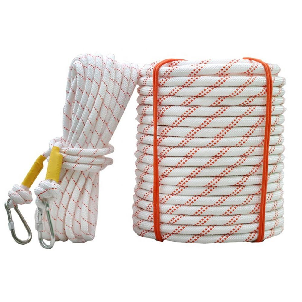Manufacturing 1-20mm PP/Polyester/Nylon Ropes Wholesale 2mm 3mm 4mm 5mm 6mm 7mm 8mm 10mm Nylon Braided Rope cord