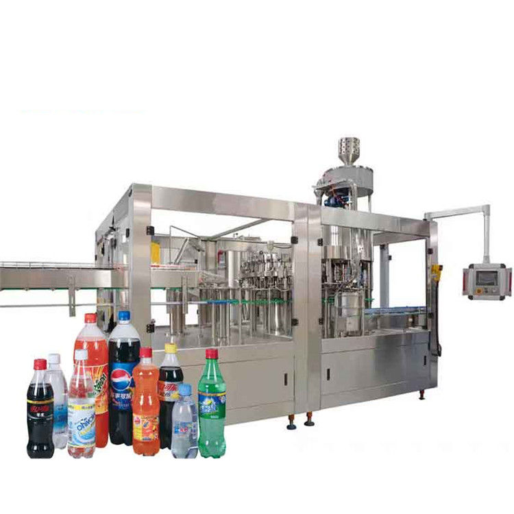 6000bph small scale csd carbonated beverage pet bottle cold soft drink cola soda filling machine price